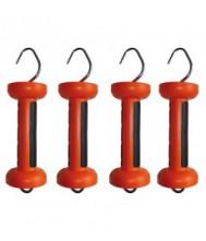 Gallagher softgrip poortgreep oranje cord/draad value pack 4 stuks Doorgangen