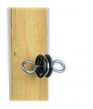 Gallagher poortgreepanker zwart 4 stuks (rond) Doorgangen