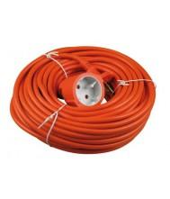 Verlengkabel 20 meter 2x1mm h05vv oranje