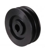 Poelie diameter 250gat 28mm b-type dubbel