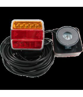 KSG LED achterlichten set met magneet Aanhanger verlichting LED