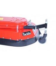 Tielburger steunwiel voor tw50s onkruidmachine