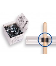 1 x displaydoos prax met steelklemmen rond 25 mm. inhoud/prijs per 20 Overig Tuingereedschap