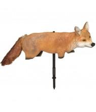 ANGRY FOX 3D MET BEWEGENDE STAART Vogelverschrikker